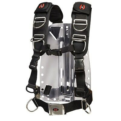 Hollis Elite 2 Technical/Recreational Scuba Diving Harness System XL-2XL