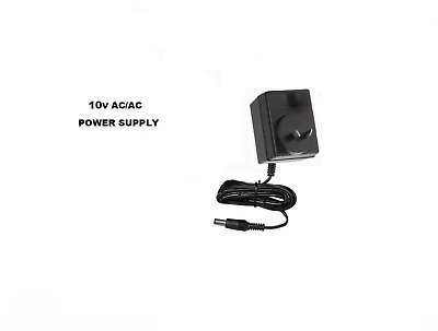 10V Ac/ac For Numark M2/m3/m4 Dj Mixer 10 Volt Ac Wall Power Supply 1A 240V