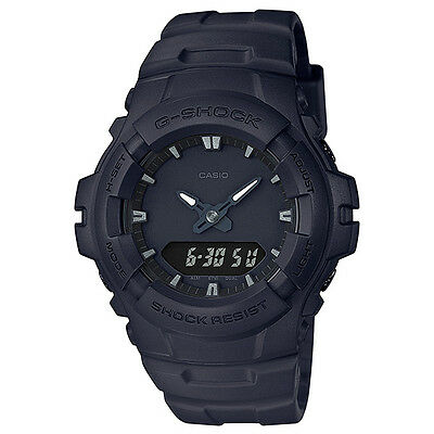 CASIO G-SHOCK Black Out Series Watch GShock G-100BB-1A