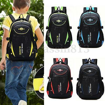 Children Boys Girls Waterproof Backpack School Bookbag Rucksack Shoulder Bag