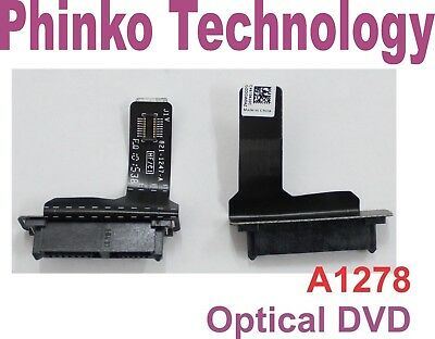 """NEW Optical DVD Drive SATA Flex Cable For Apple MacBook Pro 13"""" A1278 2011 2012"""