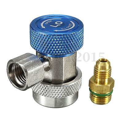 R134A AC Air Condition Low Pressure Adjustable Quick Coupler Adapter Connector