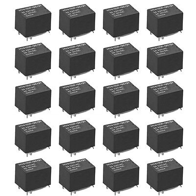 20 PCS Mini Electronic Relay DC 12V PK