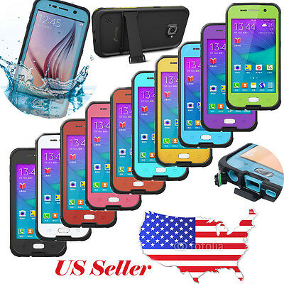 Shockproof Waterproof Dirtproof Case Cover For Samsung Galaxy S4 S5 S6 S4 Mini