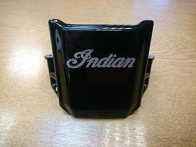 Indian Scout Sixty Black Wire Cover front plate head stock yoke bracket