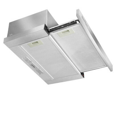 5 Star Chef Stainless Steel Range Hood 90cm 900mm Rangehood Kitchen Canopy New