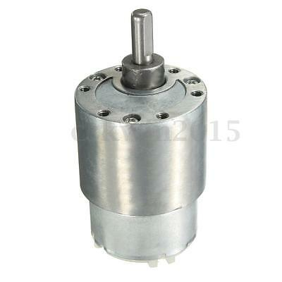 12V 3.5 RPM 37mm High Torque Gear Box Electric Motor For Brushless Replacement