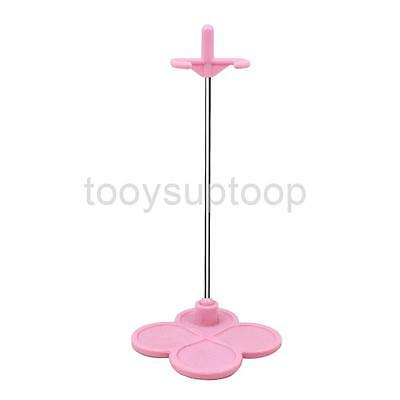 """Light Pink Dolls Display Stand Support for 12"""" Takara Neo Blythe Licca DAL"""