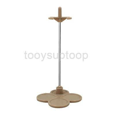 """Light Brown Doll Display Stand Holder Support for 12"""" Takara Neo Blythe DAL"""