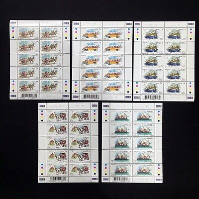 2002 Malta Christmas 2002 Sheet of 10 Stamps Unmounted NH #1239