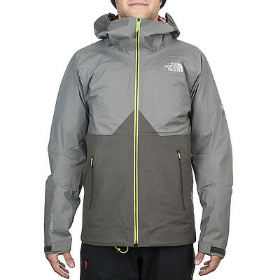 Mens North Face Fuse Originator Jacket UK Size Small Grey Waterproof Summit Coat