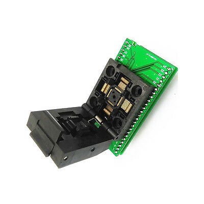 TQFP48 QFP48 To DIP48 SA248 IC Programmer Adapter Clamshell Test Socket  K85