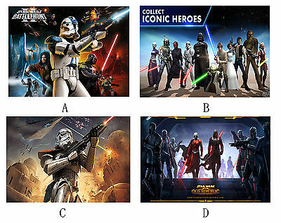 Four Types star wars mousepad computer keyboard mouse pad mat chair table mats
