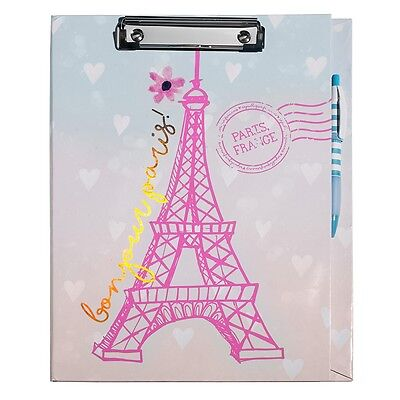 Bonjour Paris Clipboard by Three Cheers for Girls