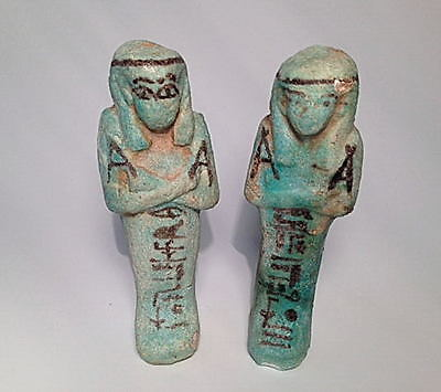 Egyptian Ushabti (Pair)