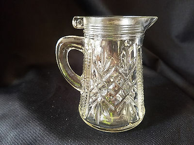 Anchor Hocking Prescut Pineapple Syrup Pitcher , No Lid