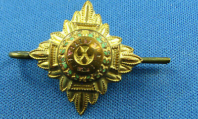 Vintage British WW2 Brass Military Insignia Pip Rank Star