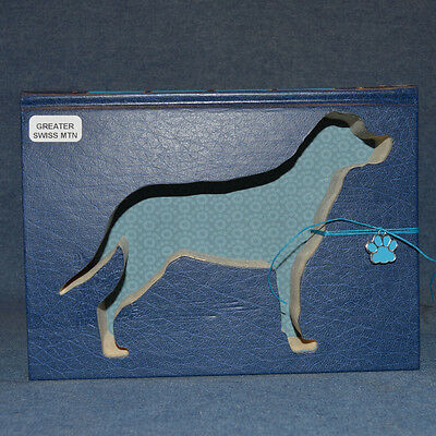 Greater Swiss Mountain Dog Upcycled Book - 002