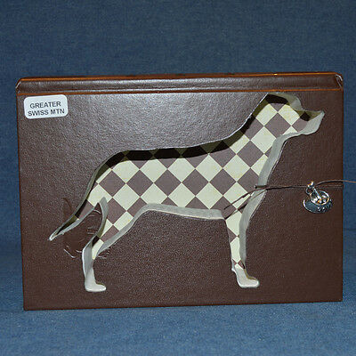 Greater Swiss Mountain Dog Upcycled Book - 003