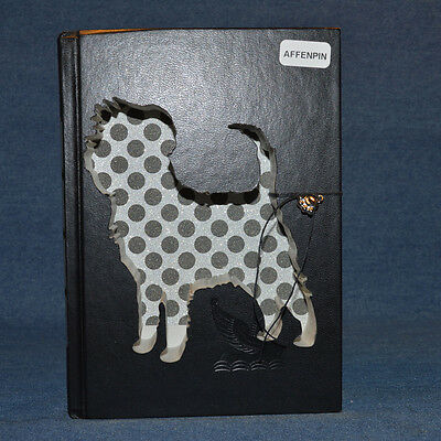 Affenpinscher Upcycled Book - 001