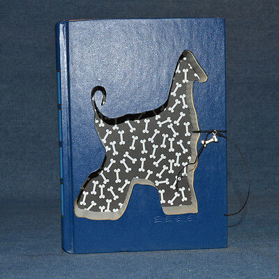 Afghan Hound Upcycled Book - 003