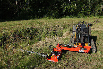 Mini Skid Steer Sickle Mower Attachment - Mow ditches, roadsides, and more!