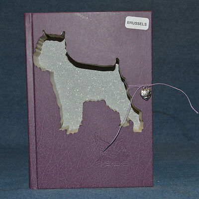 Brussels Griffon Upcycled Book - 001