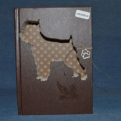 Brussels Griffon Upcycled Book - 002