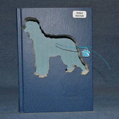 Irish Water Spaniel Upcycled Book - 001