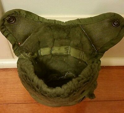 USGI Military Used Insulated COVER and Alice Clips and FREE 1 QT PLASTIC CANTEEN