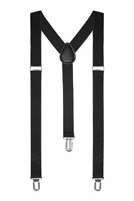 Braces Suspenders Adjustable Slim Unisex Men Ladies Trouser Fancy Dress Clip On