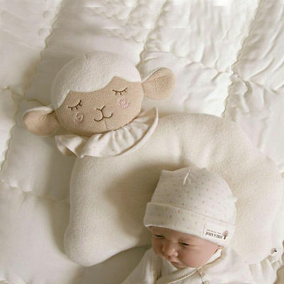 Infant Newborn Sheep Style Pillow Toddler Soft Head Support Cushion Pad Prevent