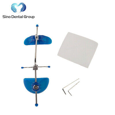 1X  Sino Dental Orthodontic Materials Adjustable Face Mask Headgear Facebow Blue