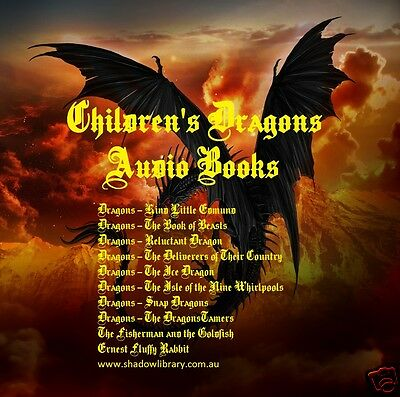 CD - Children's Dragons Vol.1 - Fairy Tales - 10 Audio Books - Sight Impaired