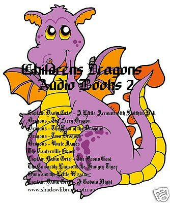 CD - Children's Dragons Vol.2 - Fairy Tales - 10 Audio Books - Sight Impaired