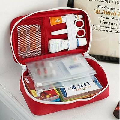 Emergency First Aid Kit Carry Bag Medical Pouch Home Car Travel Camping Holiday