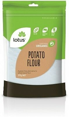 Lotus Organic Potato Flour (Starch) G/F 375g