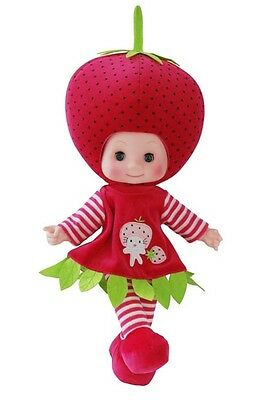 Dolls  Stuffed Musical - Singing Fruit Dolls - Strawberry 1Pc ( EDoll10A)