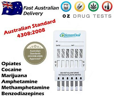 Urine Drug Testing Kits, Drug Tests, Drug Screen, Home Test, Detects 6 Drugs