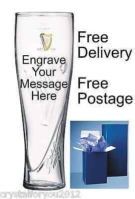 Guinness Palladian Personalised Engraved 1 Pint Glass + Gift Box Birthday