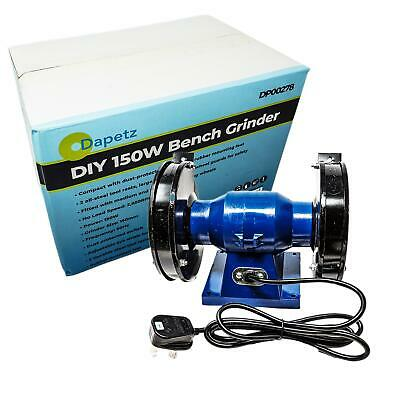 New 150Mm Bench Grinder Worktop Tool Kit 230V 150W Motor Set Polisher Grinding