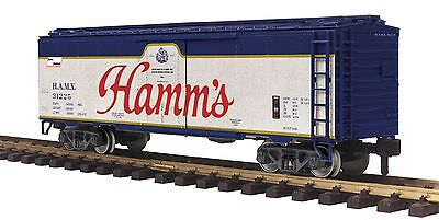 MTH 70-78045  ONE GAUGE G SCALE HAMMS 40 ft REEFER  #31225