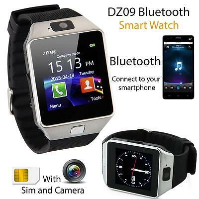 DZ-09 Bluetooth Smart Watch GSM SIM Camera for iPhone Samsung Android Phone