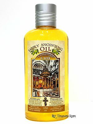 Holy Anointing Oil Frankincense Myrrh Certificated & Blessed in Jerusalem 250 Ml