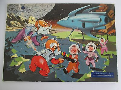 JUNIOR SPACEMEN Friends In Another World Vintage Fairchild Tray Puzzle