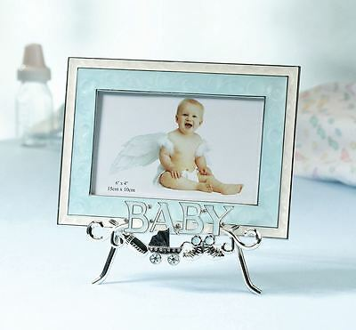 Newborn Baby Picture Photo Frame & Stand Gift