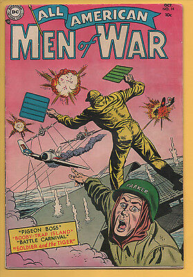 All American Men Of War #14 DC Comics 1954 Heath, Andru, VG