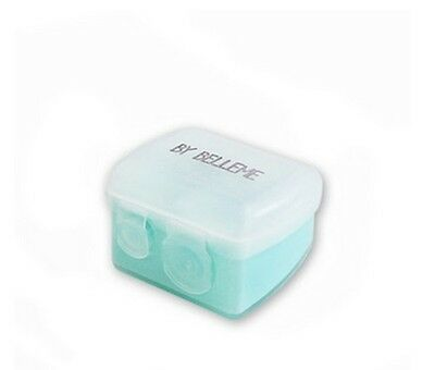 Dual Eye Liner Pencil Sharpener Sharpening Cosmetic Tool with Cover Lid YM031