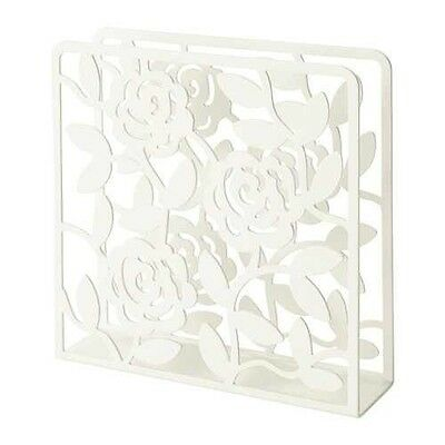IKEA LIKSIDIG - Napkin holder, white - 16x16 cm