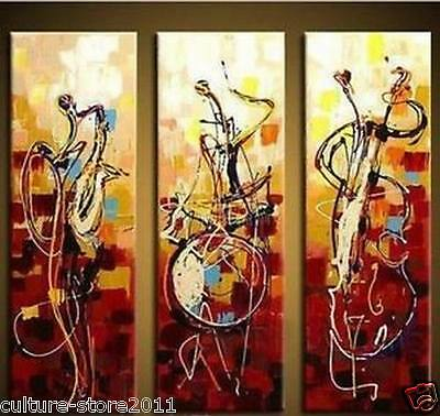 100%  Modern Abstract Huge Art Oil Painting wall decorate Canvas (no framed)